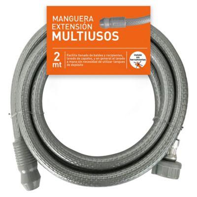 Manguera Extensión Multiusos 1/2' x 2M Acoplada