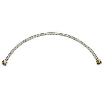 Acople 1/2x1/2 60 cm Acero Lavamanos