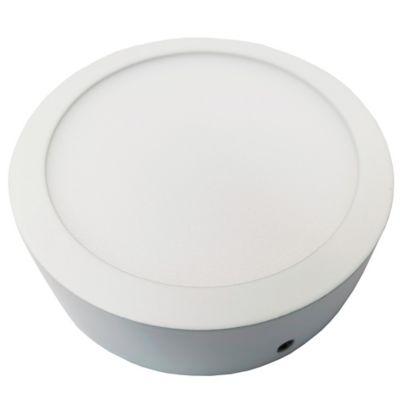Plafón LED Redondo 450 Lúmenes 6w Luz Blanca 6500K  Blanco