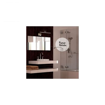 Espejo de baño flotado 120 cmx 100 cm s