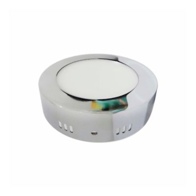 Plafon LED 1800 Lúmenes 18W Luz Fria - Cromado