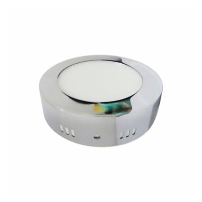 Plafon LED 1800 Lúmenes 18W Luz Cálida - Cromado