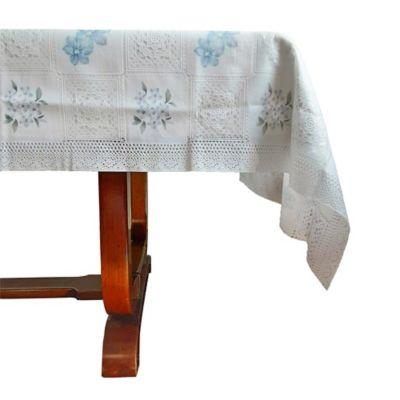Mantel de encaje plástico de 1.40 x 2.00 cm