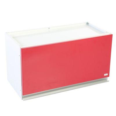 Mueble Superior para Cocina Clarice 1 Puerta 60x33x30 cm Blanco - Rojo