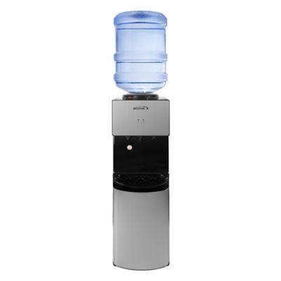 Dispensador de Agua Fria-Caliente Con Gabinete 20 Lt - Negro