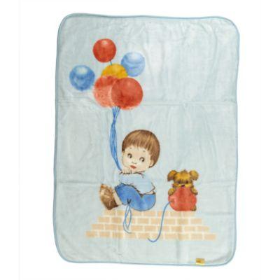 Cobija para Bebé Note Trevi 100x 30 cm Azul