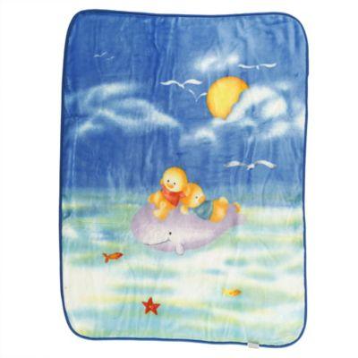 Cobija para Bebé Note Trevi 100x130 cm Azul