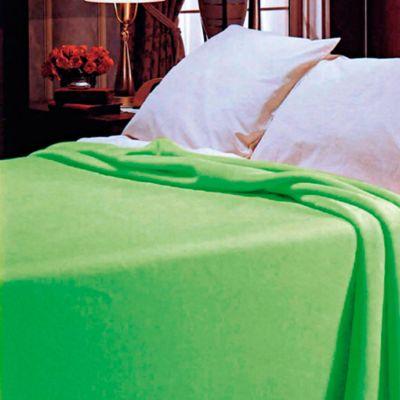 Cobija Romance Sencilla 160x220 cm Verde