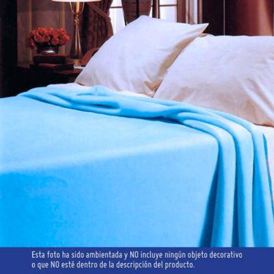 Cobija Romance Sencilla 160x220 cm Azul Oscuro