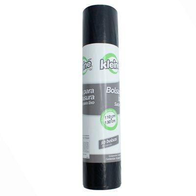 Bolsa Basura Rollo X10 Unidades 100x130cm 200 Litros Negra