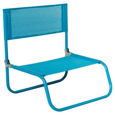 Silla Playa Beach Text Azul
