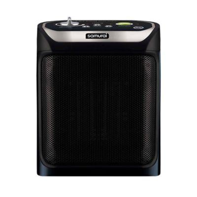 Calefactor de Interior Eléctrico 1600w Negro