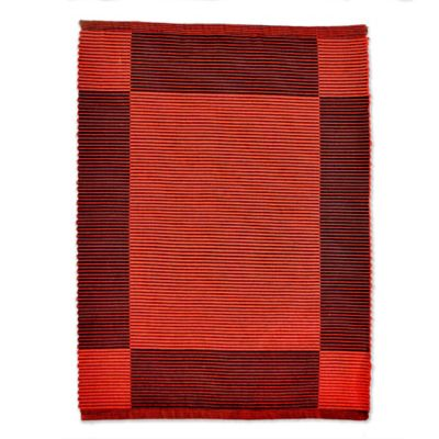 Individual Rojo/Negro 43x33cm