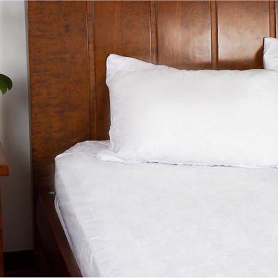 Protector para Colchón Extradoble Impermeable Fuelle 35 cm Blanco