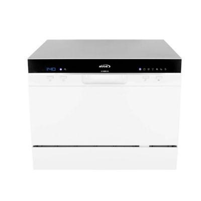 Lavavajillas Digital Sobreponer 6 puestos -Blanco LVA3602
