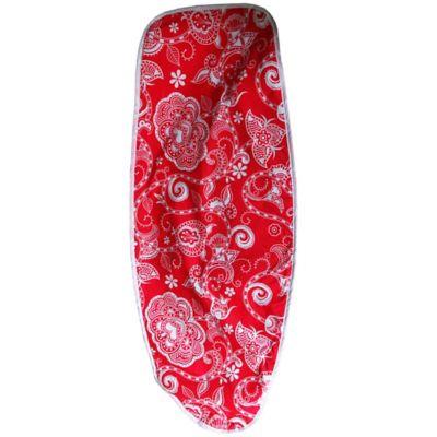 Forro Mesa de Plancha Rojo 123 x 43 cm Borde Elástico