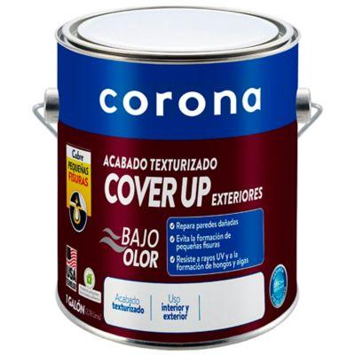 Pintura para Exterior Acabado Cover Up Basalto Exterior 1 Galón Gris
