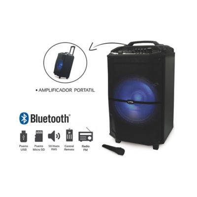 Amplificador Recargable USB Bluetooth