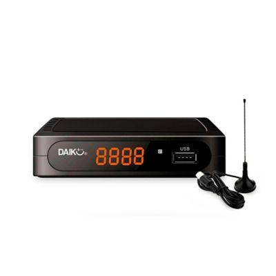 Decodificador Digital TDT + Antena Incluida DVB-T2 - D-90012