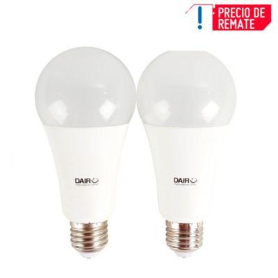 Set x 2 Bombillos LED 1400 LM 14 W Luz Cálida