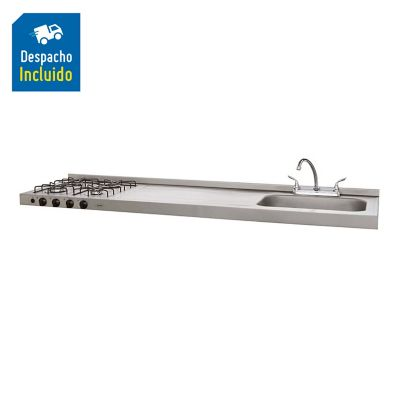 SP MESON OVATA 1.80 GAS 4PDS EE GN INOX