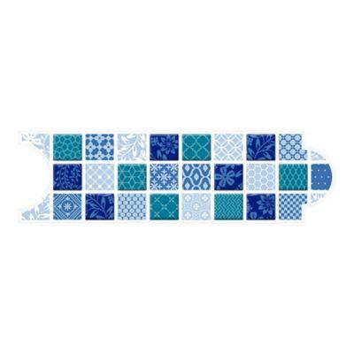 Listello para Baño Colombo 8x25 Centímetros Azul