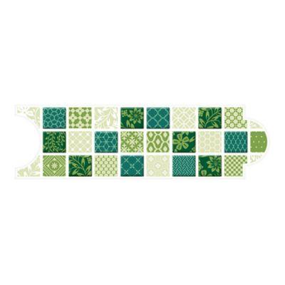 Listello para Baño Colombo 8x25 Centímetros Verde