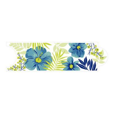 Listello para Baño Hawaiana 8x25 Centímetros Azul