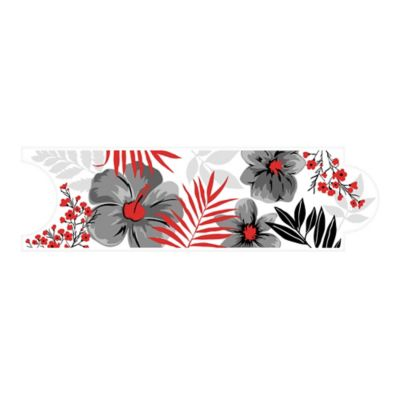 Listello para Baño Hawaiana 8x25 Centímetros Negro