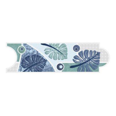 Listello para Baño Vesly 8x25 Centímetros Azul