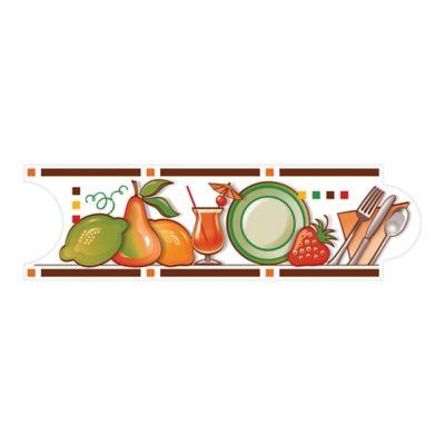 Listello para Cocina Mecina 8x25 Centímetros Café