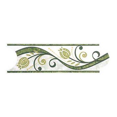 Listello para Baño Roleo 8x25 Centímetros Verde