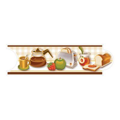Listello para Cocina Antojos 8x25 Centímetros Café