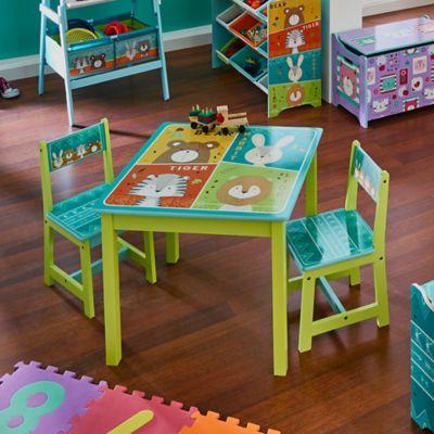 Set Mesa Infantil + 2 Sillas Zoo