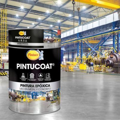 Kit Pintucoat Gris 0,9 Galón + 1/8 Catalizador