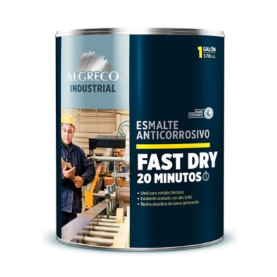 Esmalte Anticorrosivo Fast-Dry Negro 1 Galón
