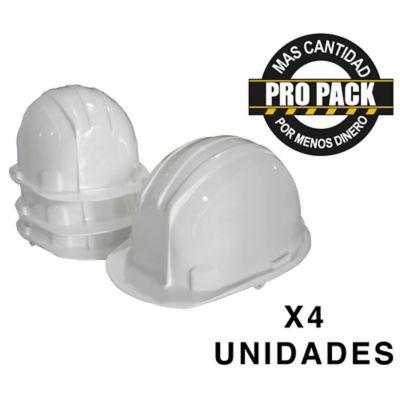 Casco Blanco Propack x 4und