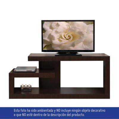 Mesa para TV Línea Quadratta 71,5x170x36 cm Wengue