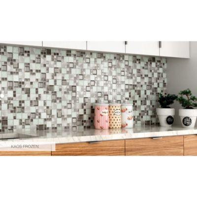 Mosaico Kaos Fronze 30x30 cm Lt