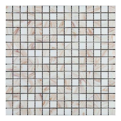 Mosaico Solo White 32.7x32.7 cm Lt