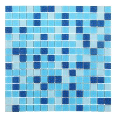 Mosaico Piscina Spa Blue 32.7x32.7 cm Lt