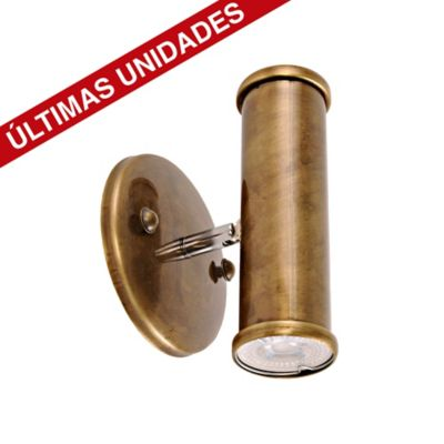 Aplique Antor Pavonado 2 Luz Gu10