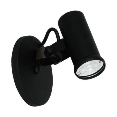 Aplique Antor Negro 1 Luz Gu10