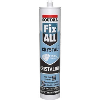Sellador Adhesivo Fix All Crystal 290ml
