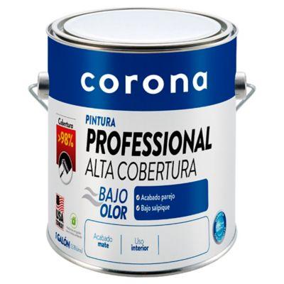 Pintura para Interior Pro Alta Cobertura Blanco 1 Galón