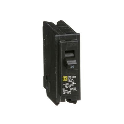 Mini Breaker Homeline, 1 Polo, 30 A, 10 kA, 120-240 V AC, Enchufable