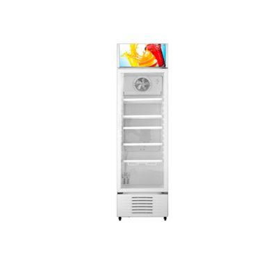 Refrigerador Exhibidor Vitrina Puerta Vidrio 342 Litros Blanco