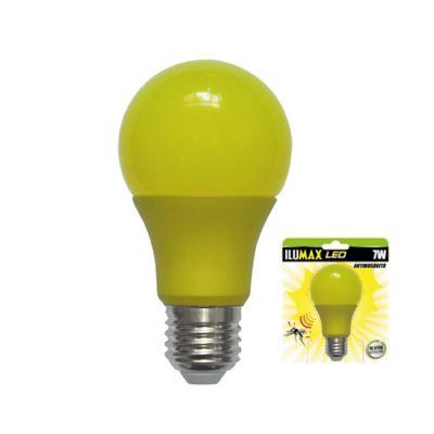 LED Bulbo Antimosquitos 7W 15.000 Horas E27 Luz Amarilla