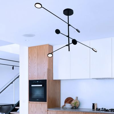 Lámpara Colgante LED Berka 1340 Lúmenes 21W L Fría