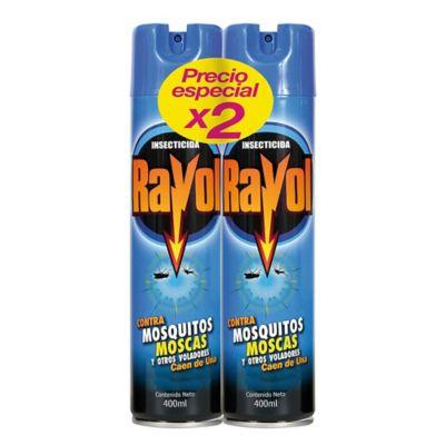 Rayol Spray Voladores X 400 Mililitros X 2 Unidades